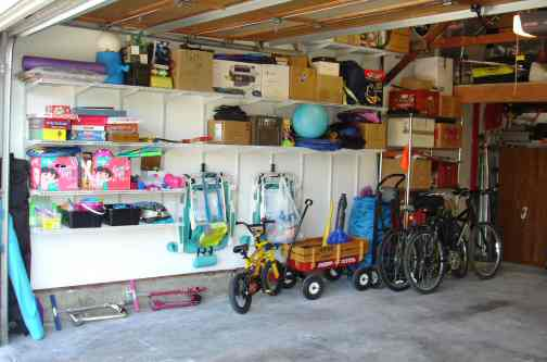 Garage after left side
