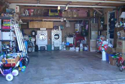 Garage before full view