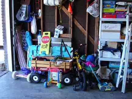 Garage Before left side front