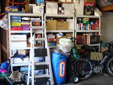Garage Before left side back