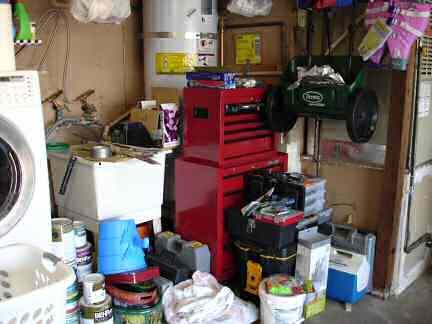 Garage Before back right corner