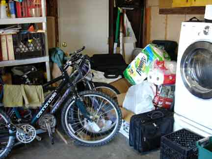 Garage Before back left corner
