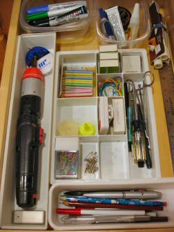 Junk drawer after