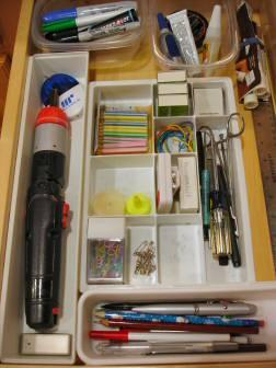 Junk drawer after
