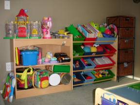 organize toys before and after
