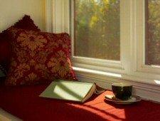 relaxing windowseat