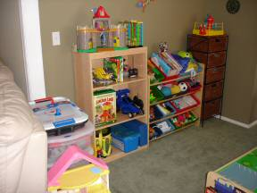 toy room after
