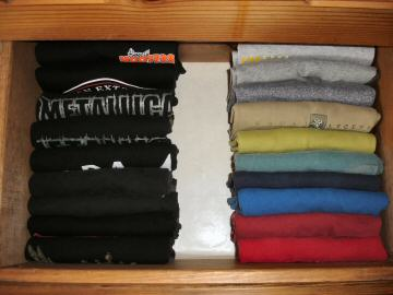 Organize Your Bedroom Dresser Drawers