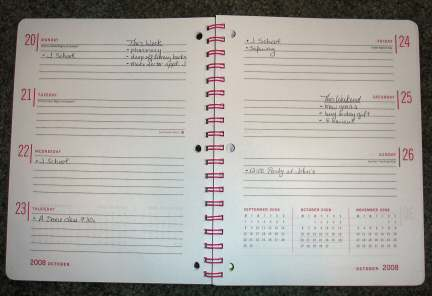 weekly planner with to do lists